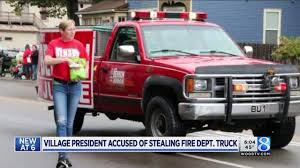 Village President Loans Truck, Irks Fire Chief