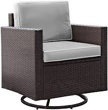 Amazon.com: Crosley Furniture Palm Harbor Outdoor Wicker Swivel ... Generations Outdoor Wicker Swivel Rocker Ding Armchair Astoria Glider Summer Classics Fniture Elegant Bamboo Fniture Java Handmade Design Hanover Orleans Rocking Chair Set Of 2 In Lazboy Breckenridge Resin Piece Patio Brick Red With All Weather Sunbrella Cushions 3piece Allweather Chat Sahara Sand Waverly Yabird Lloyd Flanders Contempo Recliner Corvus Eolie 3piece Side Table Severn Lounge Sunbrite Sonoma Goods For Life Presidio