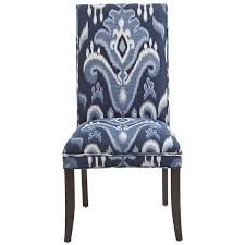 Angela Deluxe Dining Chair - Indigo Ikat | Pier 1 Imports ... Lily Navy Floral Ikat Accent Chair Navy And Crimson Ikat Ding Chair Cover Velvet Ding Chairs Tufted Blue Meridian Fniture C Angela Deluxe Indigo Pier 1 Imports Homepop Parson Multicolor Set Of 2 A Quick Living Room And Refresh Stripes Whimsy Loralie Upholstered Armchair With Walnut Finish Polyester Stunning And Brown Ideas Ridge Table Eclectic Decatorist Espresso Wood Ode To The Skirted Katie Considers