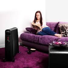 duronic hv101 wärmewellen heizung heizgerät heizer 2500 watt mit thermostat mica heizelement wärmt in 1 minute auf