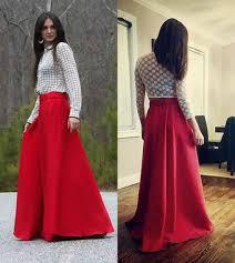 long trendy skirts dress ala