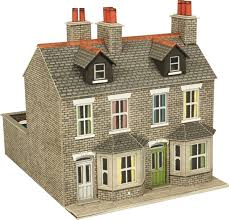 100 What Is A Terraced House 00 Gauge Town Country Railway Kits 00H0 S In Stone