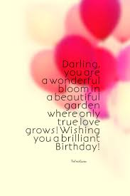 45 Cute and Romantic Birthday Wishes with Quotes & Sayings