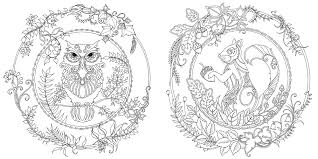 Lovely Ideas Johanna Basford Coloring Book Amazon Enchanted Forest An Inky Quest