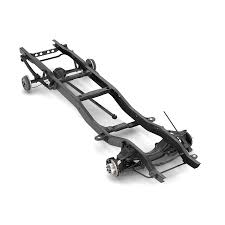 100 Truck Chassis PICKUP TRUCK CHASSIS 2WD 3D Model