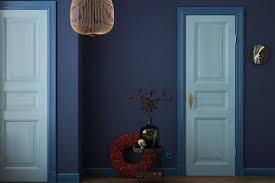 mit dunkelblau einrichten schöner wohnen
