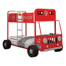 Hokku Designs Fire Engine Twin Bunk Bed | Wayfair Childrens Beds With Storage Fire Truck Loft Plans Engine Free Little How To Build A Bunk Bed Tasimlarr Pinterest Httptheowrbuildernetworkco Awesome Inspiration Ideas Headboard Firetruck Diy Find Fun Art Projects To Do At Home And Fniture Designs The Best Step Toddler Kid Us At Image For Bedroom Lovely Kids Pict Styles And Tent Interior Design Color Schemes Fire Engine Bunk Bed Slide Garden Bedbirthday Present Youtube