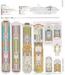 carnival sunshine deck plan