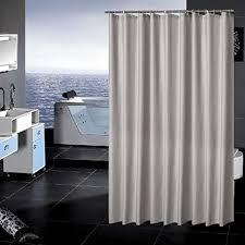 sfoothome polyester stoffvorhang für die dusche schimmelbeständiger waschbarer duschvorhang für badezimmer mit anti rost tüllen kunststoffringen