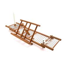 Teak Bath Caddy Canada by Bathtub Tray Caddy Canada Shelf Ikea Glass Shelves Lawratchet Com