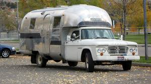 60s Dodge Airstream Camper