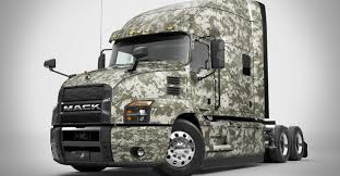 Mack Trucks Donates Mack Anthem To ATA For Veteran Recruitment