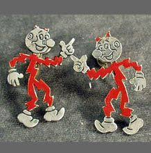 Reddy Kilowatt Character Lamp by Details About Vintage 1955 Reddy Kilowatt Stick Pin On Card