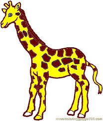 Lovely Printable Giraffe Pictures