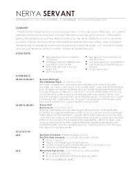 Example Waitress Resume Examples For Waiter Resumes