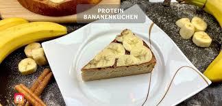 protein bananenkuchen rezept gesunder bananenkuchen