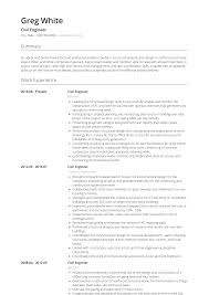 Civil Engineer - Resume Samples And Templates | VisualCV Civil Engineer Resume Writing Guide 12 Templates Lead Samples Velvet Jobs Template Professional Cv Format Doc Google Docs Free By Julian Ma On Dribbble Cv Examples The Database Structural Cover Letters Military Eeering Cover Letter Sample New 10 Examples Civil Eeering Andy Khan For Freshers Download For Fresh Graduate 2018