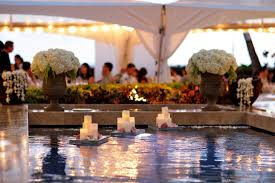 Floating Pool Decorations Wedding Wedding Decoration Ideas