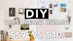 DIY Wire Grid Memo Board Wall