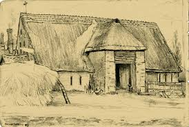 The Old Thatched Barn   Toseland Hall The Barn Westside Rd Urban Sketchers North Bay Old House Sketches Modern Drawn Farm Barn Pencil And In Color Drawn How To Draw A Drawing Wranglers Ribbons Every Place Has A Story To Tell Simple Farm 6 Steps With Pictures Wikihow Clip Art Of And Silo Stock Photography Image Wikipedia Gallery Old Drawings