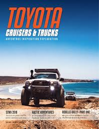Toyota Cruisers & Trucks Magazine | Toyota 4x4 / Off Road ...