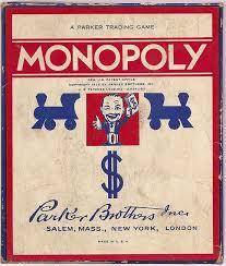 1937 Monopoly Game Box