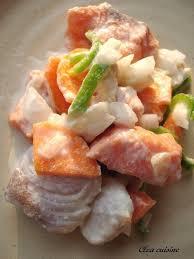 cuisine tahitienne sashimi de poisson à la tahitienne clea cuisine