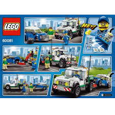 100 Lego City Tow Truck LEGO 60081 Pickup DECOTOYS