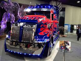 Photo Gallery: Western Star Optimus Prime At Mid-America
