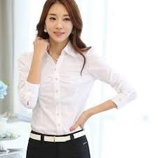 Shirts Women Summer Tops Clothing White Office Blouses Plus