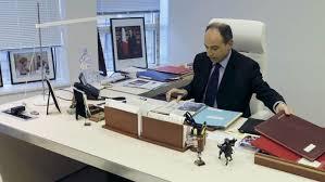 le bureau de jean françois copé transformé en salle de réunion