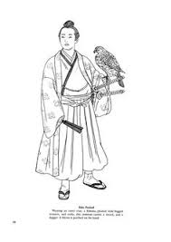 Japanese Clothing Colouring Pages