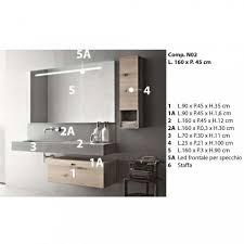 design zusammensetzung für badezimmer moderne hängemöbel made in italy farart2