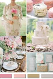 I LOVE This Color Scheme Shades Of Pink Kahki Nude And Gray 2015 Trending Wedding Ideas