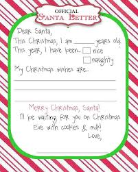 Top 15 Best Blank Letters to Santa Free Printable Templates