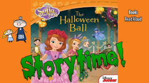 Halloween Picture Books by Sofia The First Halloween Ball Read Aloud Story Time Bedtime