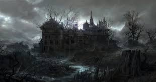 Spooky Haunted House Artworks