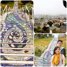 16th avenue tiled steps address bucketlist sf 16th ave tiled stairs project check delicacies