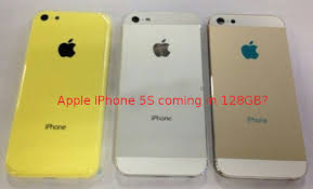 Apple to launch 128GB iPhone 5S