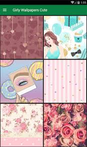 Cute Girly Wallpapers On Your Phone Screen You Just Select Which Image Like And Then Turn It Into Wallpaper Mobile