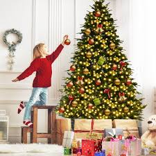 5ft Premium Artificial Pine Christmas XMAS Tree LED Lights With