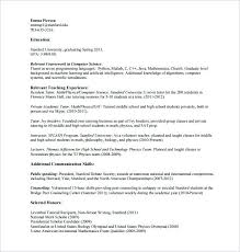 Tutor Resume Private Free Download Example Sample