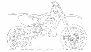 NEW HOW TO DRAW A DIRT BIKE