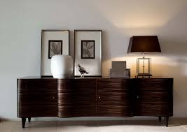 Contemporary Buffet Sideboard Furniture Smoky Quartz With