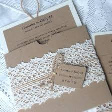 Rustic Quirky Wedding StationeryKraft Lace Twine