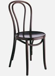 Thonet Bentwood Chair Cane Seat by No 18 Thonet Thonet