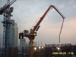 100 Truck Mounted Boom Lift The Concrete Placing Boom Is Hydraulic Climbing Type Which