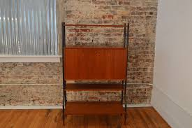 Drop Front Secretary Desk by Lyby Mobler Danish Modern Drop Front Desk Shelf Unit Galaxiemodern