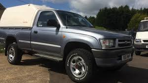 1999 TOYOTA HILUX 4x4 SINGLE CAB PICKUP TRUCK REVIEW - YouTube