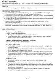 Resume For Highschool Students New Student Examples Luxury